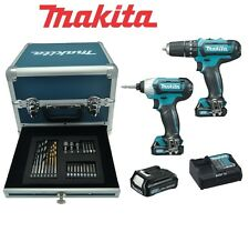 Kit Trapano + Avvitatore + Accessori 10,8V Litio Limited Ed. Makita - CLX202SAX2