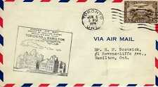 CANADA 1ers vols first flights airmail 15