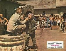 KIRK DOUGLAS THERE WAS A CROOKED MAN... 1970 VINTAGE LOBBY CARD #12