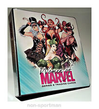 WOMEN OF MARVEL SERIES 2 MINI-MASTER SET WITH BINDER++