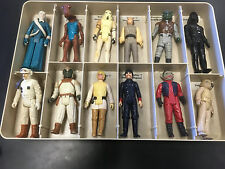 Lot of 12 vintage Original Star Wars figures from the 70's & 80's FARMBOY LUKE!