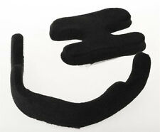 Helmet Liner Replacement Pad 2-Piece Black Medium