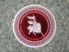Feng Shui = King Gesar Window Sticker (2 pieces)