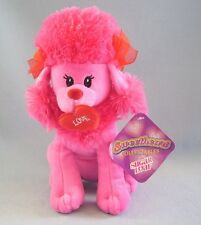 Sugar Loaf Pink Poodle Sweetheard Collectables Plush Dog Love