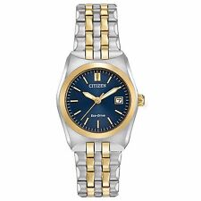 Citizen Eco-Drive Women's EW2294-53L Corso Blue Dial Two-Tone Braclet Watch