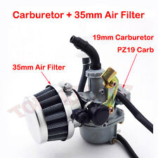 19mm Carburetor PZ19 Carb Air Filter Chinese 50 70 90 110 cc ATV Quad 4 Wheeler