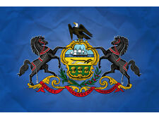 State of Pennsylvania Flag 3' x 5' with Grommets