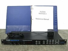 Alesis Midi Verb III Multi-Effects Processor w/ Power Supply & Manual MidiVerb