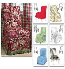 McCalls Home Furnishing / Decorative Sewing Pattern 4404 Chair Cover Essentials
