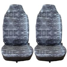 2pcs Cloth Fabric Grey Classic Front Auto Car Seat Cover Free Shipping Cushion