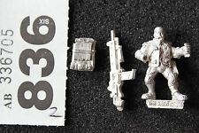 Games Workshop Necromunda Van Saar Heavy with Stubber Metal Figure WH40K OOP