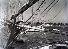 RHODES c. 1935 - Le Port Grèce Négatif Verre - V9 1027