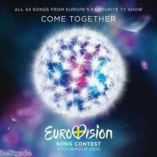 EUROVISION SONG CONTEST - STOCKHOLM 2016 - 2 CD SET * NEW & SEALED *