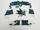 COUTURE SAN JOSE SHARKS AWAY TEAM ISSUED REEBOK EDGE 2.0 7287 JERSEY SIZE 60
