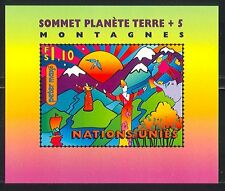 UN-G 1997 Earth Summit/Environment/Mountains m/s n31665