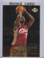 LeBRON JAMES ROOKIE CARD Basketball #1 NBA DRAFT PICK RC Clevelad Cavs Insert LE