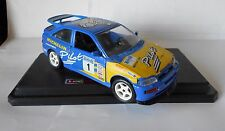BBURAGO FORD ESCORT RALLY Ulster 1994 WILSON Thomas 1/24 Diecast in Scatola