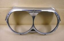 1962 Pontiac Fullsize Exc Grand Prix Headlamp Bezel LH Used, 541068