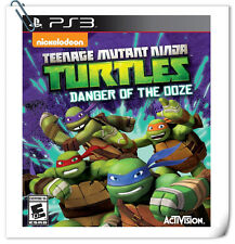 PS3 Ninja Turtles Danger of the Ooze SONY PLAYSTATION Activision Action Games
