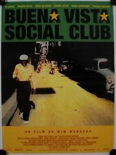 Affiche Cinéma BUENA VISTA SOCIAL CLUB 1999 WENDERS - 40x60cm