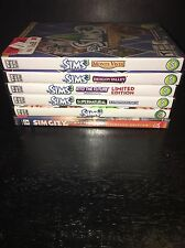 The Sims 3 +4 Expansions Supernatural, Into the Future and More! +Sim City CoT!!