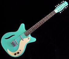 Danelectro 12-String Electric Guitar D59V12 Dark Aqua 2017 (AUTHORIZED Dealer)