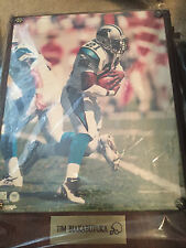 CAROLINA PANTHERS PLAQUE VINTAGE 12X9 OLD STORE STOCK TIM BIAKABUTUKA
