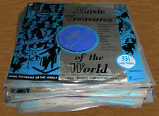 35 Classical LPs Music Treasures of the World-Look Never Played Excellent Cond