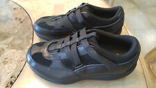 Skechers Shape-ups Black Leather and Suede Women's Size 9.5 - 24864