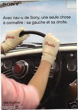 Publicité 2006 - SONY - Navigateur portable NV-U50
