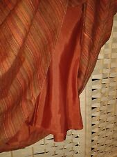Size 18 Long laura Ashley lined skirt orange mix