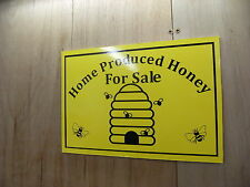 1 a4 'home produced Honey for sale sign free P&P