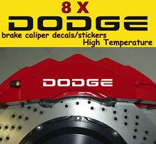 8 X Dodge Brake Caliper Decals Stickers Graphics Vinyl Logo Emblems Car A