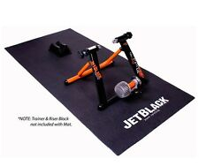 JetBlack Trainer Mat Suits All Ergo Mag Fluid Anti-vibration Floor Matting