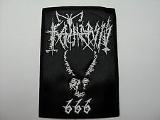 KATHARSIS  EMBROIDERED PATCH