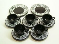 Re-ment Fairy Tale Tea Party tableware #6-Witch's invitation cups saucers plates