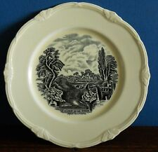 A Vintage Grindley - Lock on the Stour - Scenes after Constable decorated plate