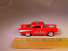 "JL '57 CHEVY ""MONOPOLY"" ILLINOIS AVE. COLLECTIBLE DIECAST LIMITED EDITION"