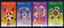 2012 Malaysia 2nd Series Malaysian Unity 4v Stamps Mint NH