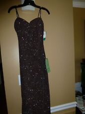 Cachet Ind. Inc. New York SIZE 10 Brown Glitter  Prom, Bridesmaid, Wedding