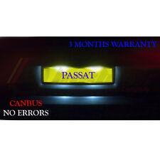 VW Passat 3B B5 3C B6 License Number Plate LED Light Bulbs - Xenon White 36