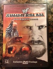 WWF - Summerslam '99 (DVD, 2000) WWE 1999 SUMMERSLAM Rare Oops-Authentic US