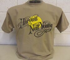 Neil Young 'cosecha; t-shirt