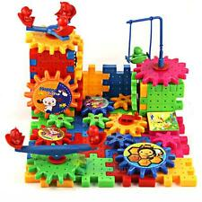 81x Funny Brick Moving Gear Playground Educational Building Block Toy Xmas Gift#