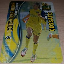 CARD CALCIATORI PANINI 2005-06 CHIEVO COSSATO CALCIO FOOTBALL SOCCER ALBUM
