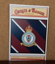 Bomber Command Royal Airforce , Crests & Badges Of the Armed services postcard