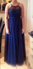 Sorella Vita UK Size 12 Navy Bridesmaid/Prom/Cruise/Ball Dress (Fits Size 10)
