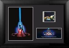 """TRON Walt Disney 1982 Science Fiction Movie FILM CELL and PHOTO 5"""" x 7"""" New"""