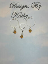 THE GOLD DUST  NON PIERCING NIPPLE RINGS &  NON PIERCING BELLY RING SET