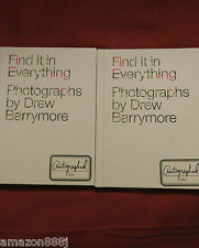 SIGNED DREW BARRYMORE   Find It in Everything 2014 1ST/1ST HC
